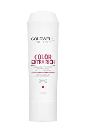 Bottle of shampoo for colour treated hair