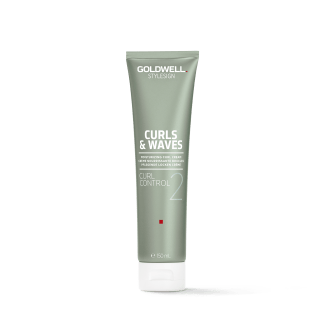 Tube of curl cream