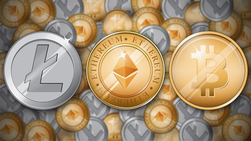 4 major cryptocurrencies