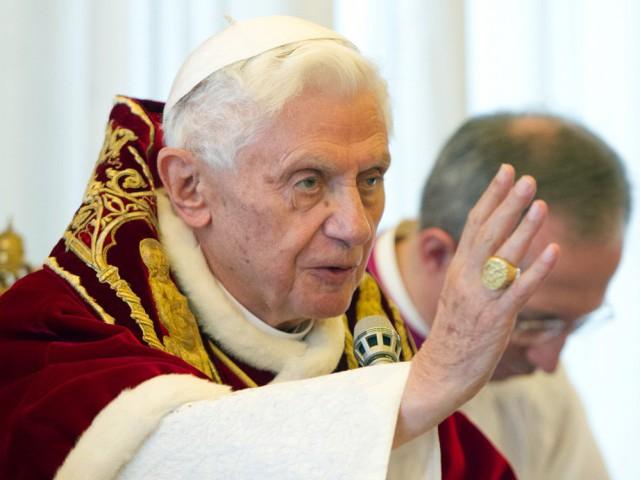 Oração do Papa Bento XVI