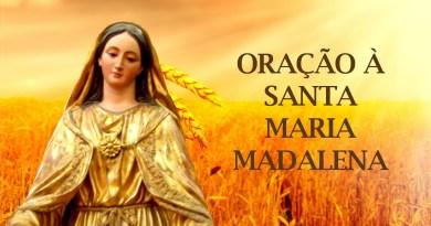 madalena - Oração a Santa Maria Madalena