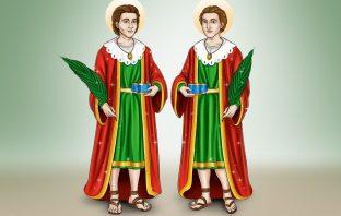 Oração a São Cosme e Damião para Alcançar uma Graça