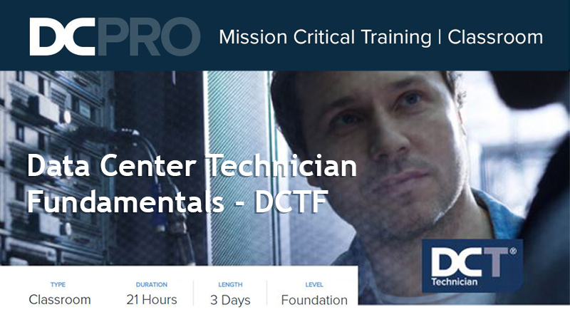 Curso DCPRO Data Center Technician Fundamentals – DCTF.