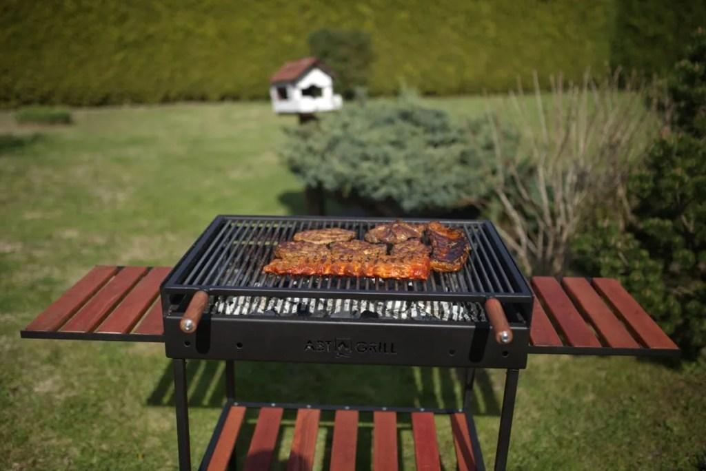 3 Gratar Economic Grill Robust Durabil Bbq Carbuni Lemne Foc Carne Mici