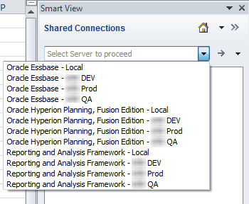 Smart View Shared Connection in an XML ~ Oracle - Hyperion Labs
