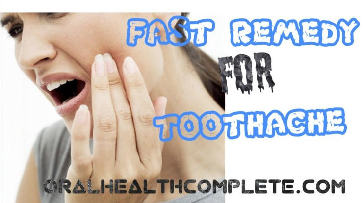 Toothache Remedies and relief