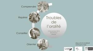 Les troubles de l'oralité