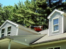 plank on the roof