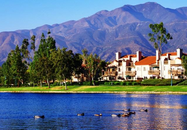 Rancho Santa Margarita Lake.