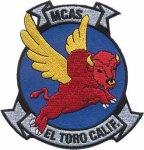 Disney Studios designed this badge for the El Toro MCAS.