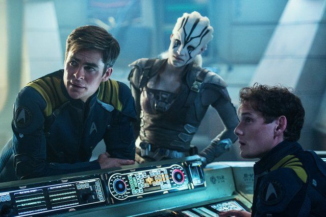 """STAR TREK BEYOND"" opens this weekend."