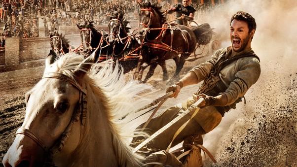 "JACK HUSTON stars in a new ""Ben Hur."""