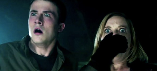 "BURGLARS weren't ready for what they found in ""Don't Breathe,"" opening this weekend."