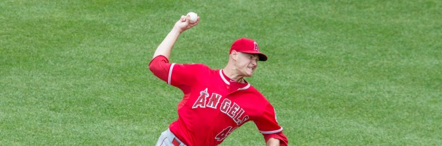 GARRETT RICHARDS is one of three Angels starting pitchers out with injuries.