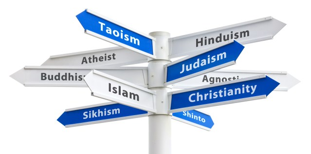 DIFFERING FAITHS are a problem with the father.