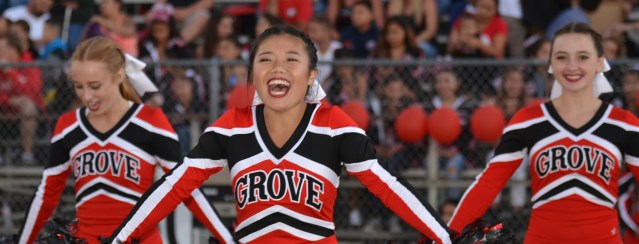 SIX FOOTBALL TEAMS – including Garden Grove High – have plenty to cheer about as they are unbeaten (OC Tribune photo).