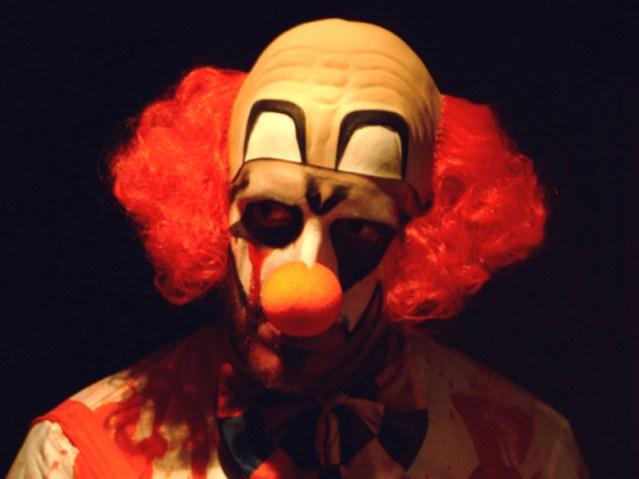 """THERE have been two sightings of """"creepy clowns"""" In Huntington Beach, according to police (Wikipedia/Graeme MacLean)."""