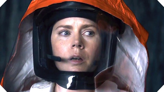 """AMY ADAMS stars in """"Arrival,"""" opening this weekend."""