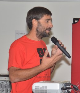 ERIC HENNINGER, computer science teacher at aquatics coach at GGHS (OC Tribune photo).