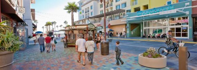 THE HUNTINGTON BEACH City Council on Tuesday approved an inquiry into the financial records of the downtown business district (HB BID image).