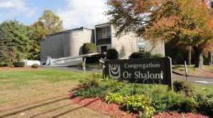 Congregation Or Shalom, 205 Old Grassy Hill Road, Orange