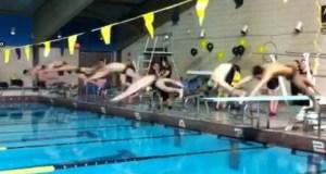 girls relay swim