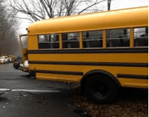 File photo from a Dec. 2013 bus accident in town.