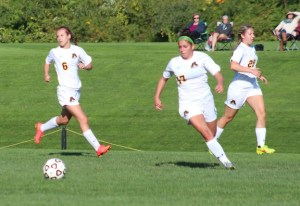 Girls soccer file photo