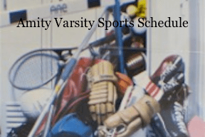 amity sports schedule