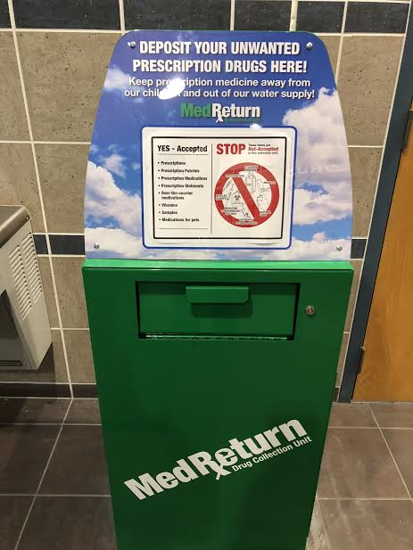 New Drug Drop Box Makes Disposal of Unwanted Prescriptions Easy
