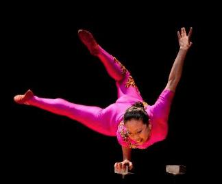 Orange Community Women Present Chinese Acrobat Li Lu