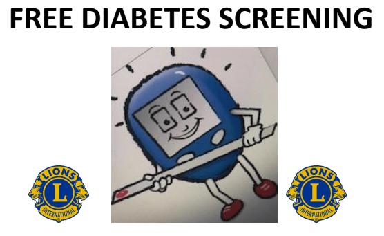 Free Diabetes Screening in Orange on Sept. 27