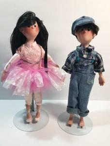 OrangeJar Art Doll Twins2