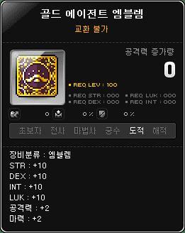 Gold Agent Emblem