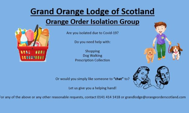 Orange Order Isolation Group