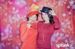 Splunk's Winter photo booth