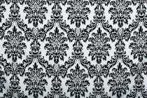 Black & White Paisley