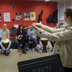 Rythme Signé percussions au lycée Saint-Louis (Saint-Nazaire) 8