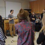 Rythme Signé percussion corporelle au lycée Aristide Briand (Saint-Nazaire) avec Gwenael Dedonder de Sysmo 4