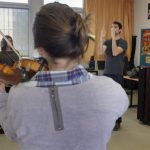 Rythme Signé multi-instruments au lycée Aristide Briand (Saint-Nazaire) avec Gwenael Dedonder de Sysmo 3