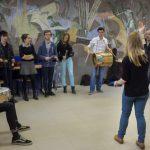 Rythme Signé percussions au lycée Aristide Briand (Saint-Nazaire) 2