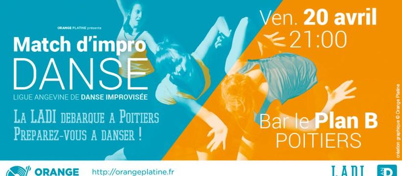 Match d'Impro Danse - LADI à Poitiers - 180420