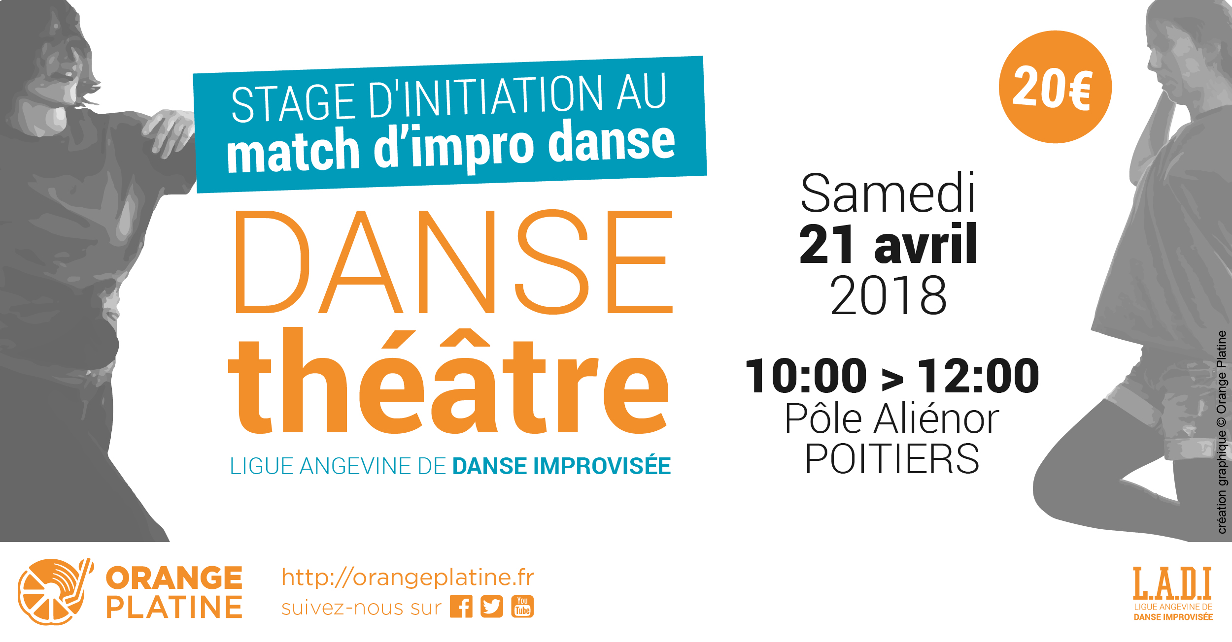 Stage de match d'impro danse - 21 avril 2018