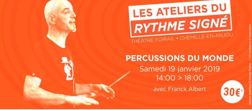 Atelier Percussions Franck Albert - 19012019