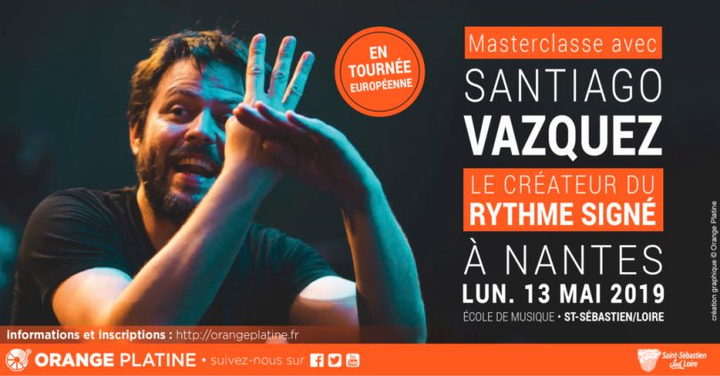 Masterclasse Santiago Vazquez - École de musique - Saint-Sébastien-sur-Loire