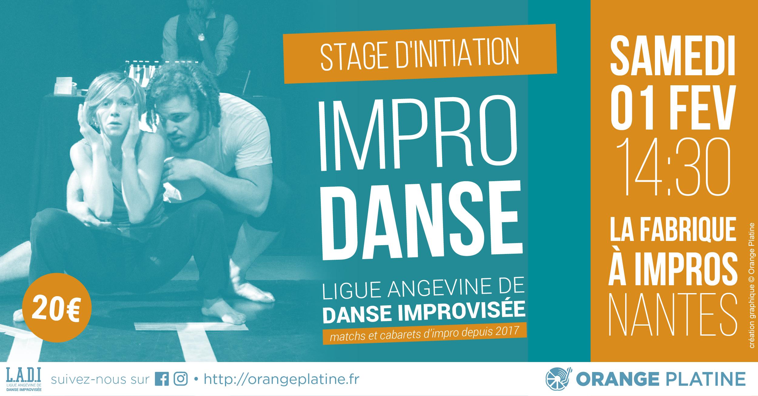 Stage d'impro danse - 01 février 2020