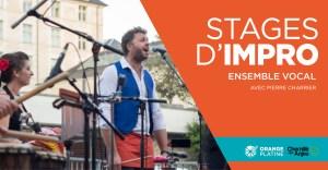 Stage impro chant rythme signé - Pierre Charrier