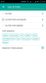 Pilih filter per Kategori