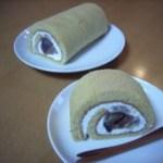 栗のロールケーキ C