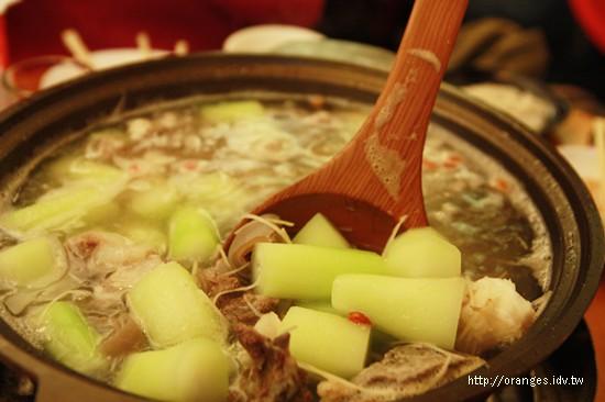 一品蔬菜羊肉爐